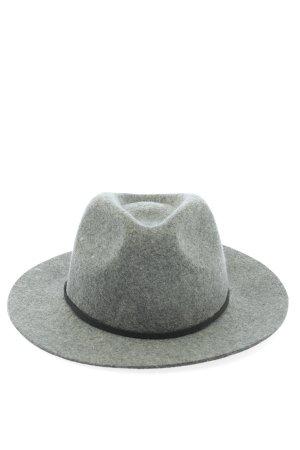 Brixton Cappello di lana grigio chiaro stile casual