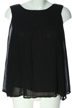 Broadway ärmellose Bluse schwarz Casual-Look
