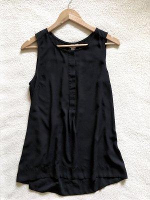 Broadway Basic Casual Longtop Bluse schwarz Gr. S