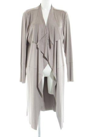 Broadway Floor-Lenght Coat light grey casual look