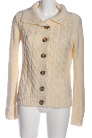 Broadway Cardigan creme Zopfmuster Casual-Look