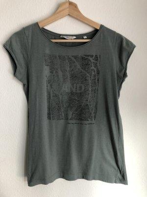 Broadway T-shirt gris vert-kaki