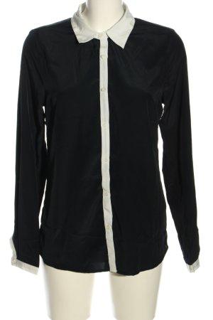 Broadway Hemd-Bluse schwarz-weiß Business-Look