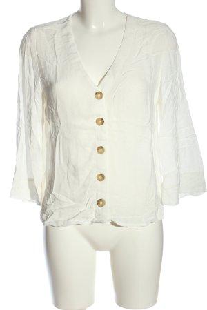 Broadway Camicia blusa bianco stile casual