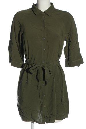 Broadway Robe chemise vert style décontracté