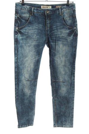 Broadway Jeans vita bassa blu stile casual