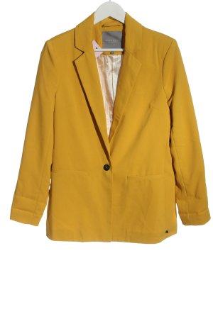 Broadway Blazer corto giallo pallido stile casual