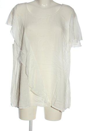Broadway Bluzka z krótkim rękawem biały W stylu biznesowym