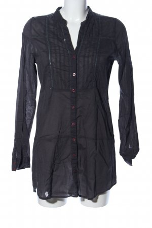 Broadway Long-Bluse schwarz Elegant