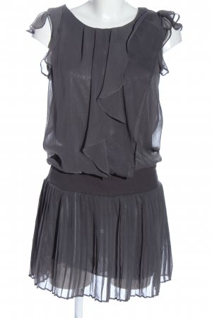 Broadway Mini-jurk lichtgrijs elegant