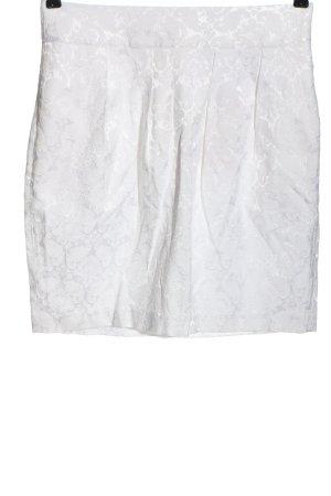 Broadway Mini-jupe blanc imprimé allover style décontracté