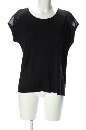 Broadway Oversized shirt zwart casual uitstraling