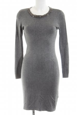 Broadway Tube Dress light grey flecked casual look