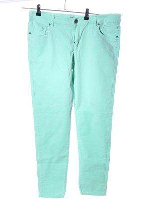 Broadway Slim Jeans türkis Casual-Look