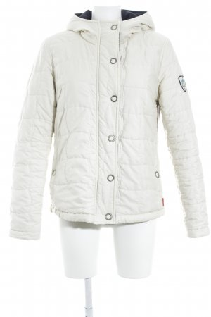 Broadway Steppjacke creme Steppmuster Casual-Look