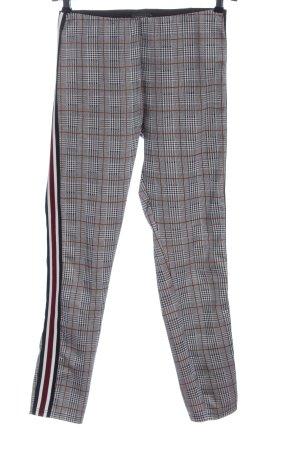 Broadway Pantalon en jersey motif à carreaux style décontracté
