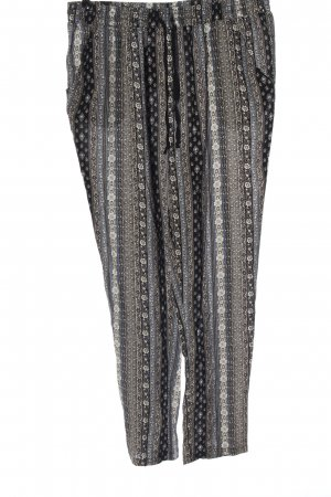 Broadway Stoffhose Allover-Druck Casual-Look