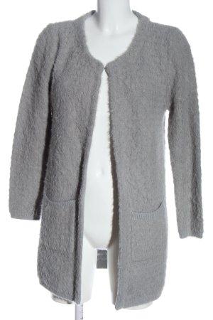 Broadway Cardigan in maglia grigio chiaro stile casual