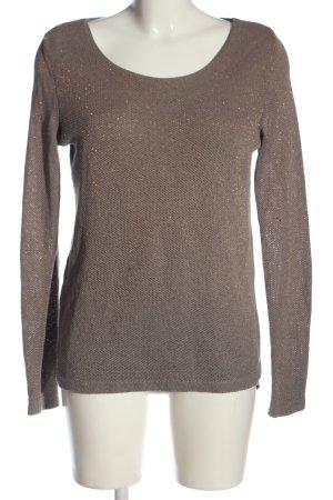 Broadway Maglione lavorato a maglia grigio chiaro stile casual