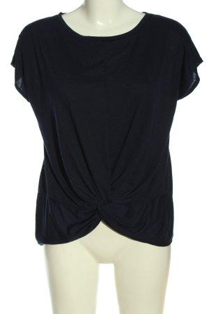 Broadway T-shirts en mailles tricotées noir style décontracté