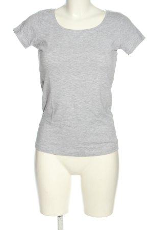 Broadway T-shirt grigio chiaro puntinato stile casual