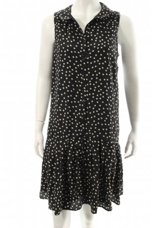 Broadway Trägerkleid schwarz-weiß Punktemuster Elegant