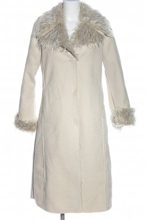 Broadway Cappotto invernale bianco sporco stile casual