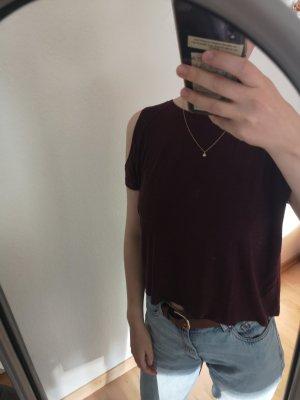 Brombeerrotes Shirt