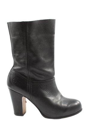 Bronx Heel Boots black casual look