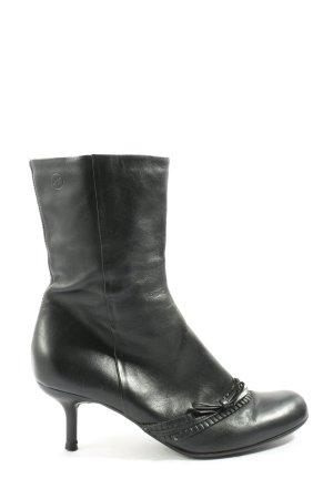 Bronx Absatz Stiefel schwarz Casual-Look