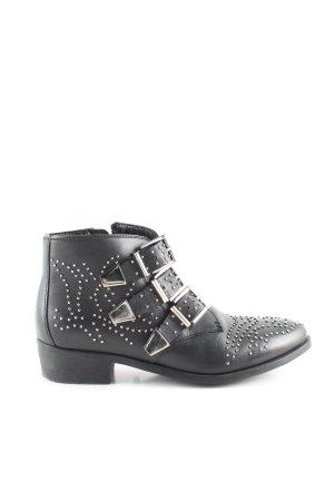 Bronx Tronchetto nero-argento stile casual