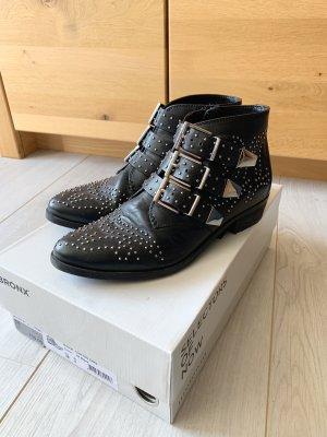 Bronx Ankle Boots mit Nieten