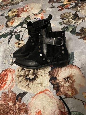 Bronx Slip-on Booties black