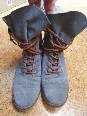 bronx boots gefüttert stylisch warm