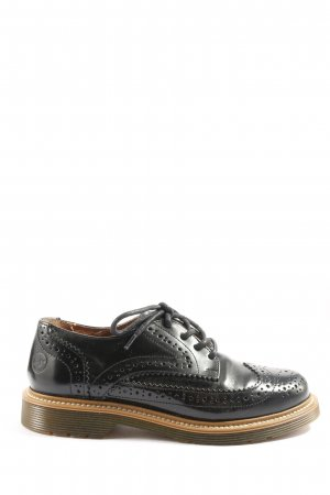 Bronx Wingtip Shoes black business style