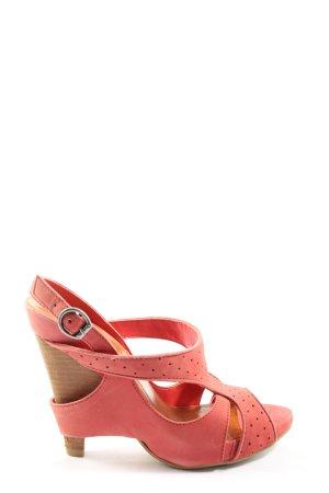Bronx Sandales à talon haut rose style décontracté