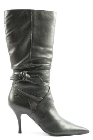 Bronx High Heel Stiefel schwarz Business-Look