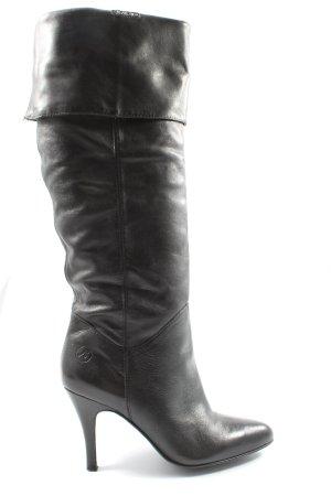 Bronx High Heel Stiefel schwarz Casual-Look