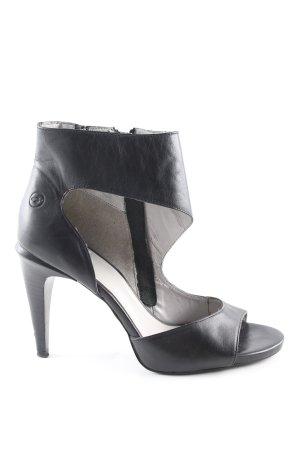 Bronx High Heels schwarz Casual-Look