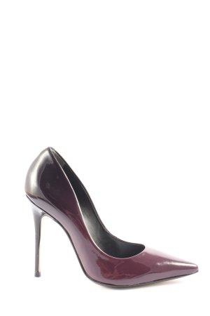 Bronx High Heels lila Casual-Look