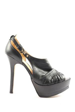 Bronx High Heels schwarz Elegant