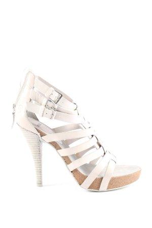 Bronx High Heels weiß Casual-Look