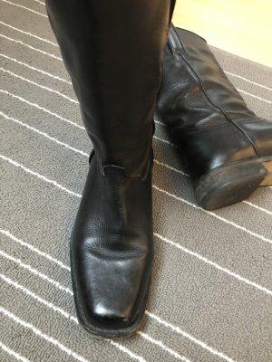 Bronx Buskins black leather
