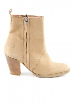 Bronx Short Boots beige simple style