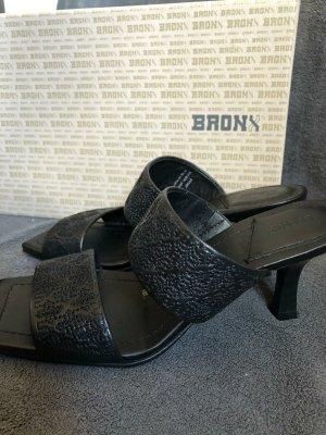 Bronx Sandaletto con tacco alto nero