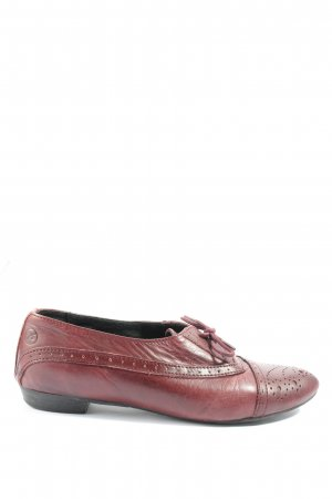 Bronx Oxford rot Casual-Look
