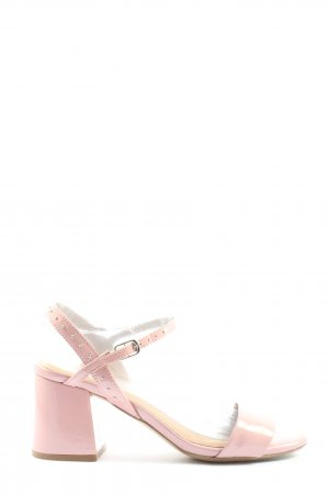 Bronx Peep Toe Pumps roze casual uitstraling