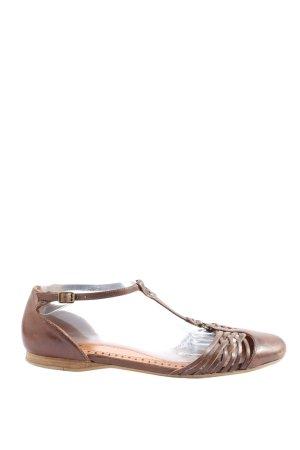 Bronx Sandalo con cinturino marrone stile casual