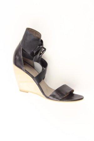 Bronx Sandalen Größe 39 schwarz