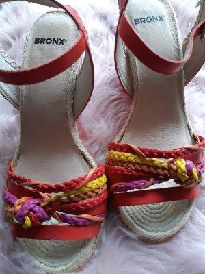 BRONX-Sandalette, Gr. 36, Leder